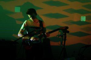 Student guitarist