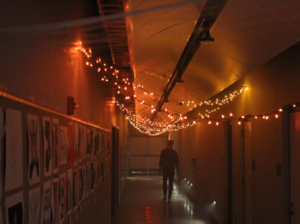 Lights in IMM building